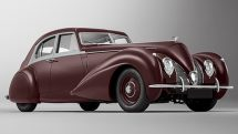 Bentley Corniche de 1939, revive de los escombros