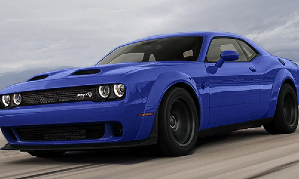 Dodge Challenger SRT Super Stock nueva variante mas potente
