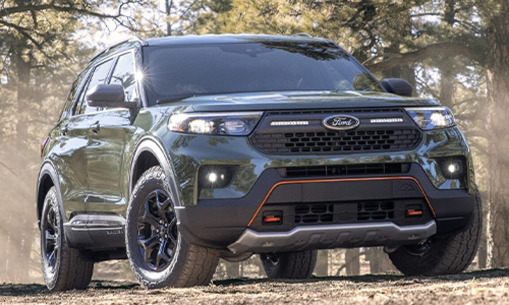 Ford Explorer Timberline nueva variante off-road