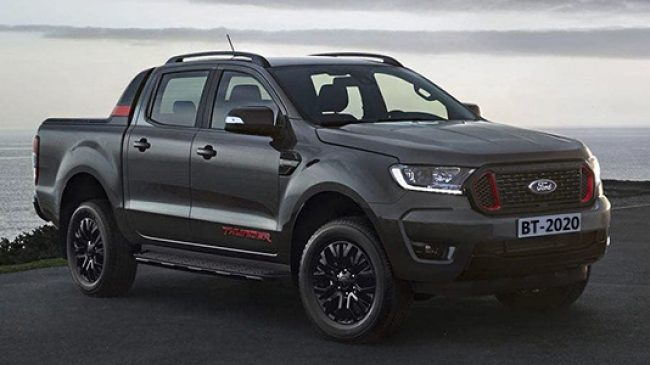 Ford Ranger Thunder Edition  con un diseño exclusivo