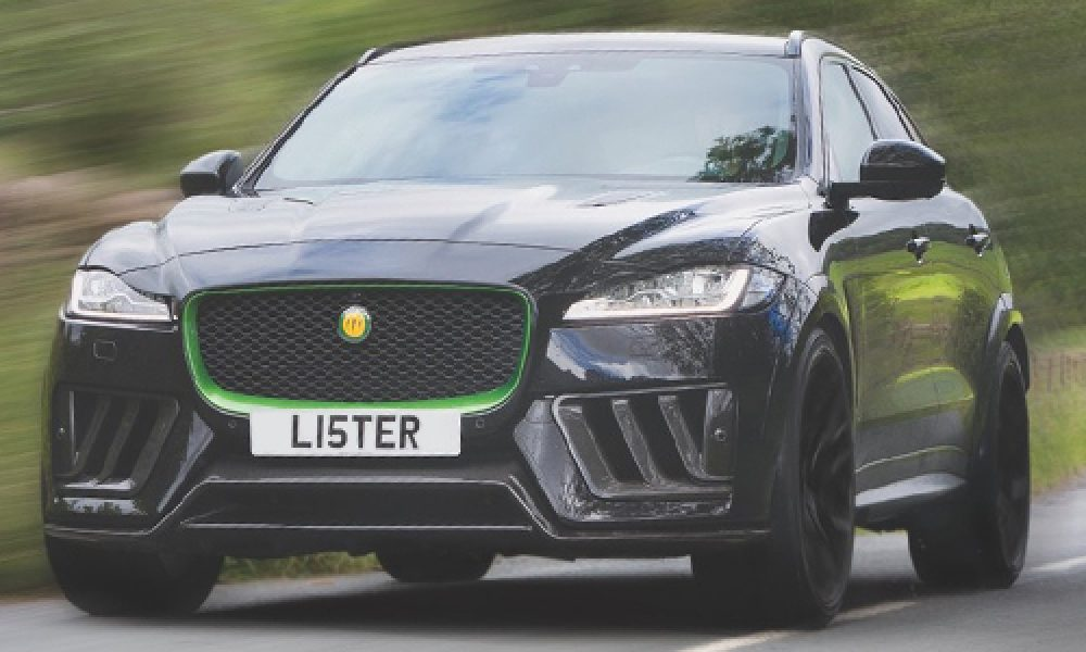Lister Stealth, el modificado Jaguar F-Pace SVR más potente