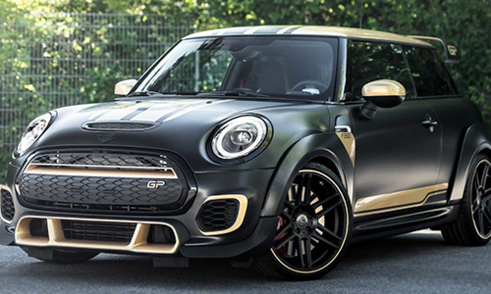 MINI John Cooper Works GP3 F350 modificado por el especialista Manhart