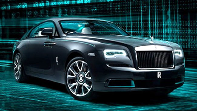 "Rolls-Royce Wraith Kryptos Collection, 50 unidades del ""encriptado"""