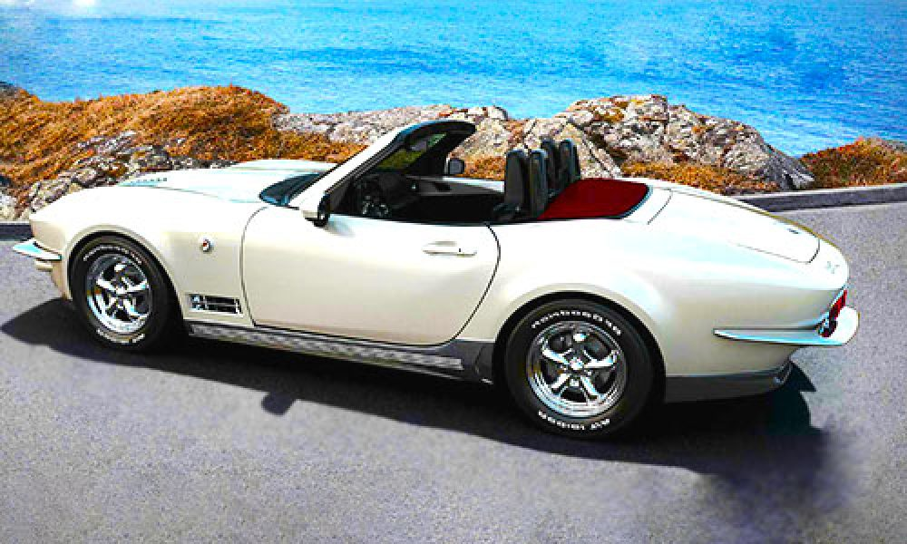 mitsuoka rock star mazda corvette