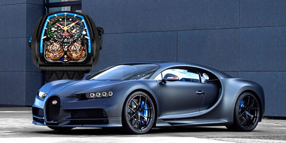 Jacob & Co. diseña un Reloj exclusivo para clientes Bugatti