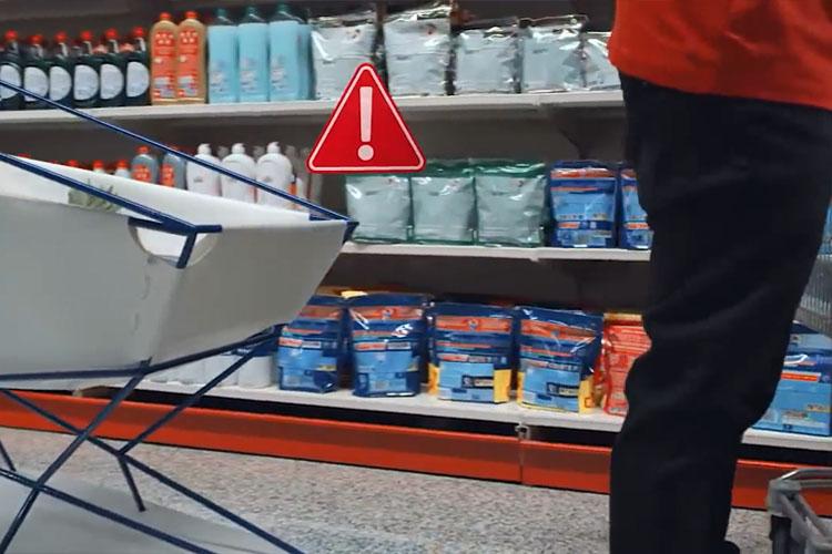 carrito de supermercado es parte de proyecto interventions de Ford