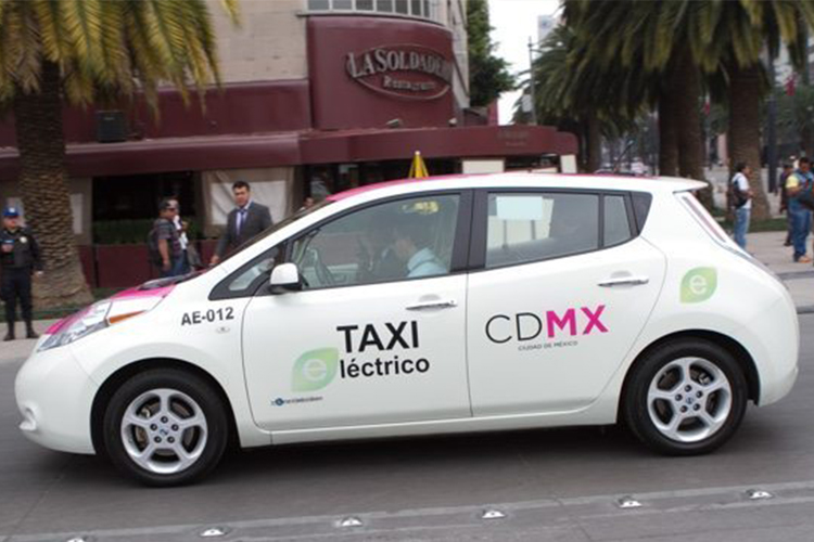 Taxi 100% electrico