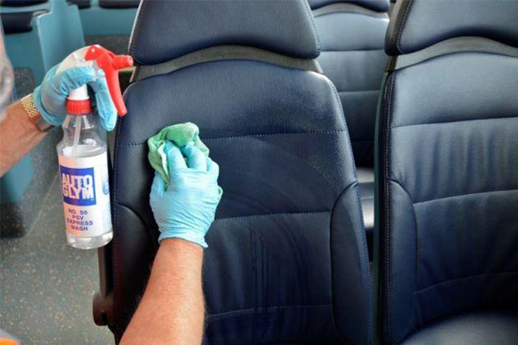 y eliminar el coronavirus lavado de asientos