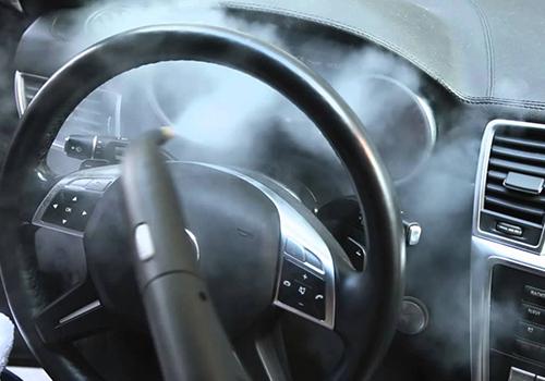 y eliminar el coronavirus uso de vapor en el interior