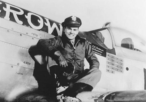 coronel Bud Anderson, fue un piloto de caza Mustang GT Edición tributo Mustang GT edición Tributo