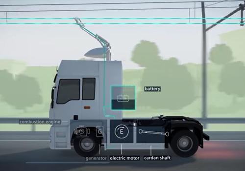 carga a los camiones hibridos