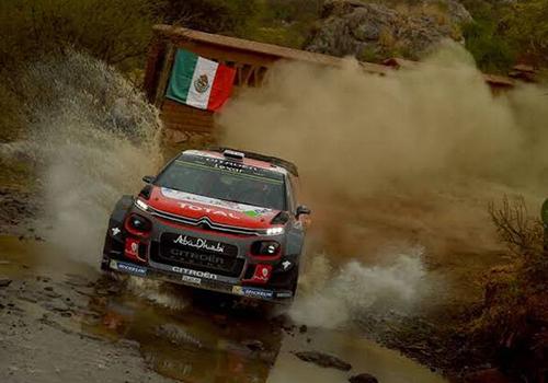 en competencia Rally WRC 2019