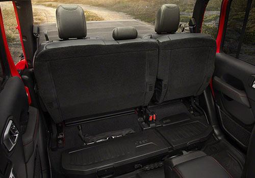 espacio de almacenaje jeep gladiator 2020