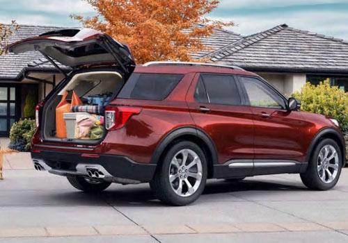espacio en cajuela del nuevo suv de ford