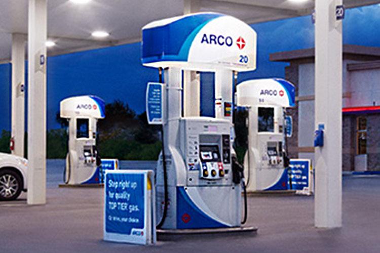 estacion de gasolina Arco