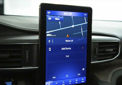 pantalla tipo tablet