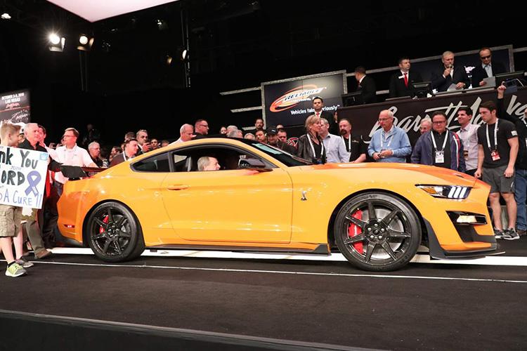 ford mustang GT500 subasta por 1.1 millones