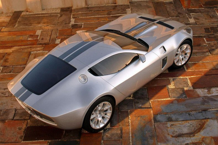 ford shelby GR-1, acabado espejo auto superdeportivo