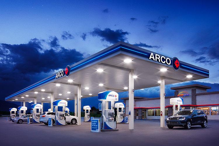 gasolinera Arco perteneciente a Andeavor