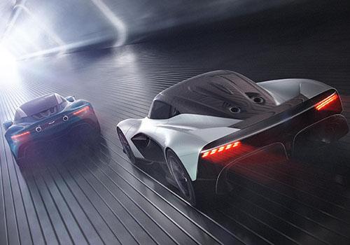 hypercar Aston Martin Valhalla colaboración red bull