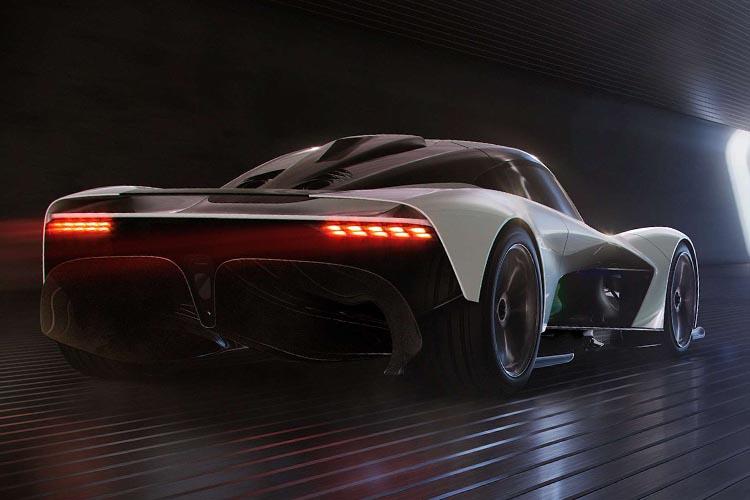 hypercar Aston Martin Valhalla con nuevo motor v6 híbrido