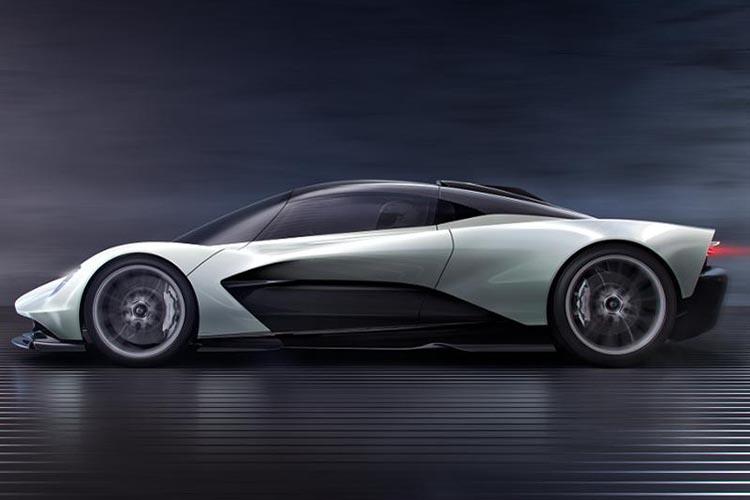 hypercar Aston Martin Valhalla llega a finales de 2021