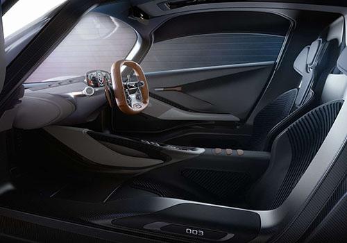 hypercar Aston Martin Valhalla vehículo futurista