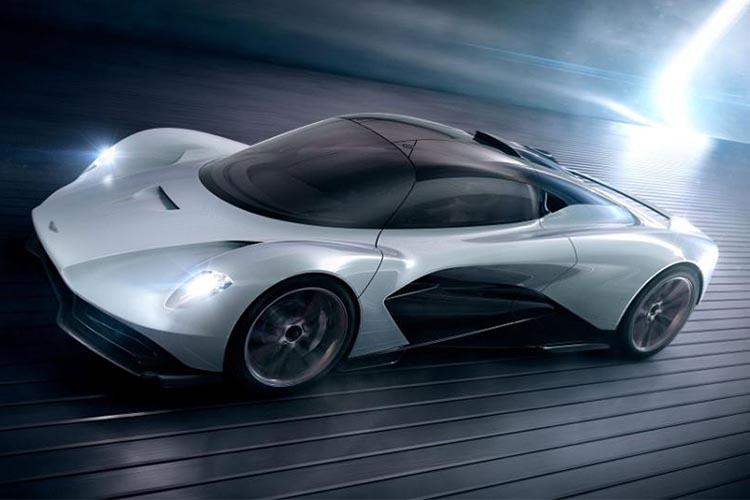 hypercar Aston Martin Valhalla velocidad más de 1000 hp