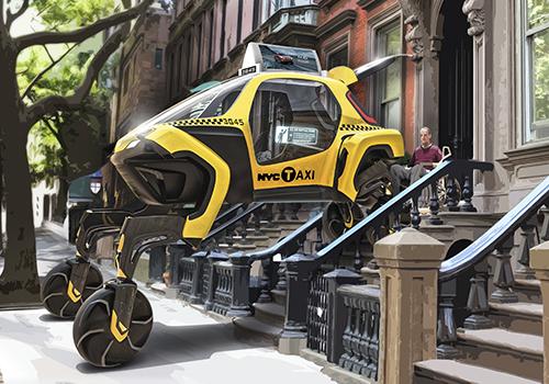 hyundai elevate como taxi especial