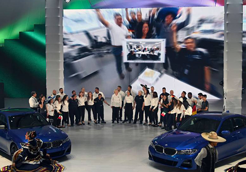 BMW comienza a ensamblar en México inauguración planta BMW