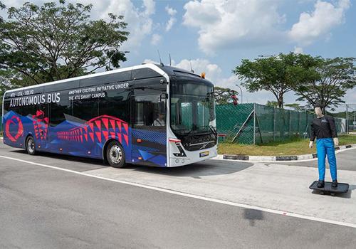 innovaciones Volvo, pruebas en autobus electrico autonomo autobuses electricos de Hyundai