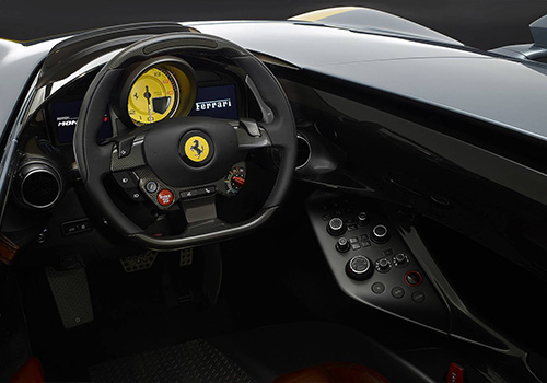 interior SP1 ferrari