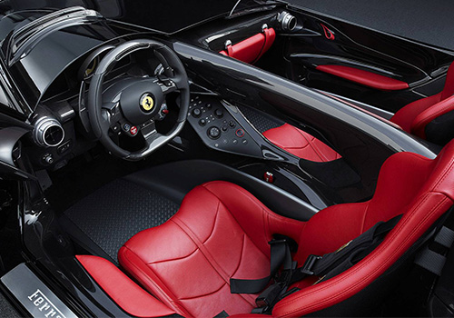 interior SP2 ferrari