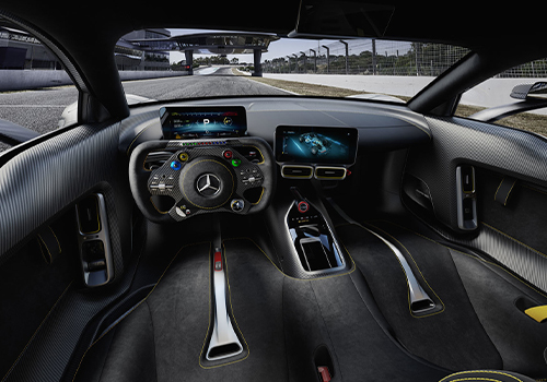 interior del AMG Project One