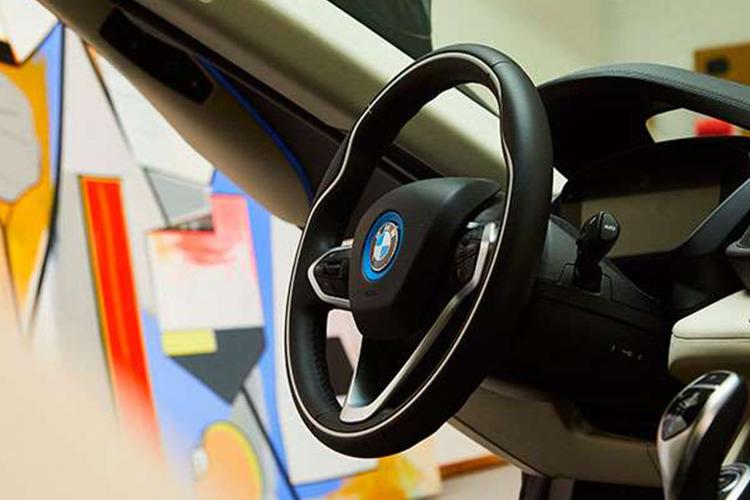 interior del BMW i8