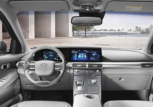 interior del Hyundai Nexo