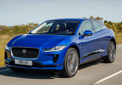 jaguar i-pace en color azul