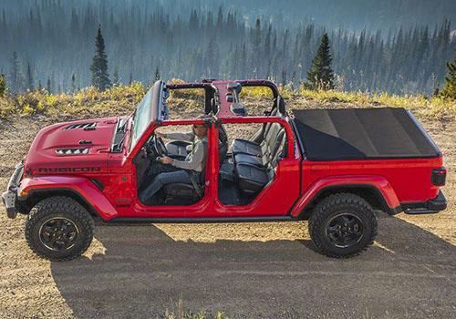 jeep gladiator 2020 con puertas y techo removible