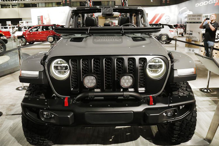 jeep gladiator 2020 frente Los Angeles Autoshow