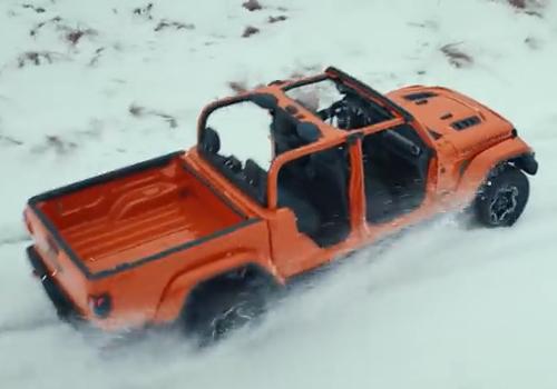 jeep gladiator todoterreno modelo