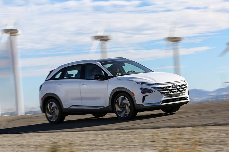 las pilas de hidrógeno del Hyundai Nexo - nuevas fuentes de energía