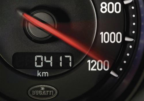limite de velocidad superando los 400 km por hr