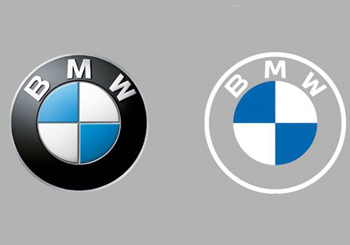 logo de BMW mas claro