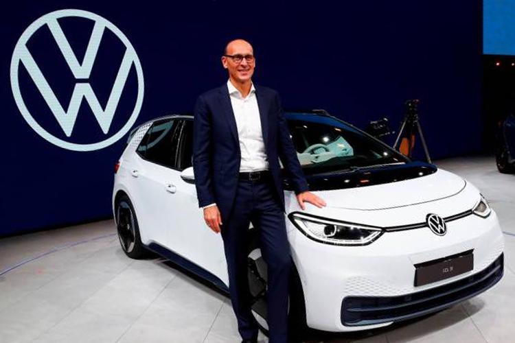 logo de Volkswagen nueva era