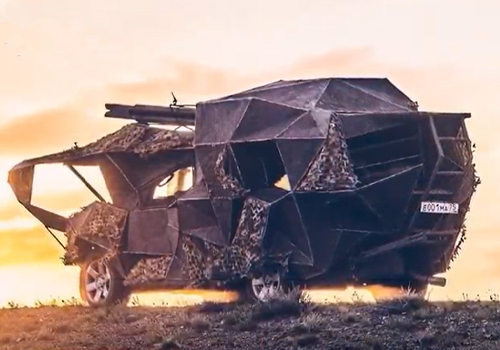 mad max primer vehiculo construido