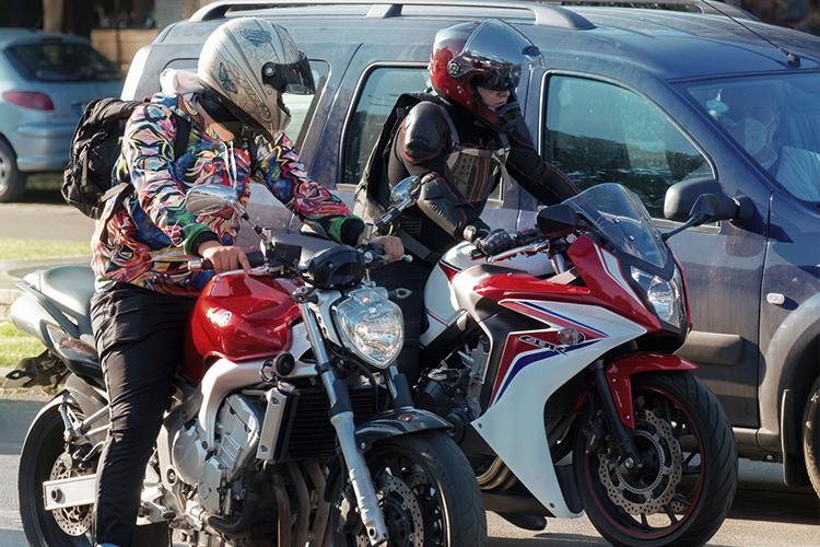nueva Licencia para motociclista seguridad