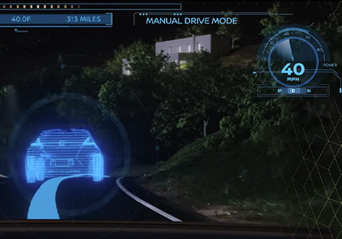 nueva realidad virtual al volante con Nissan Invisible-to-visible