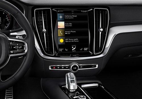 nuevo Volvo S60 con pantalla táctil de 12,3 pulgadas