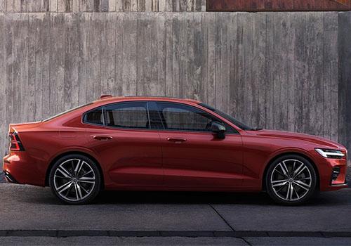 nuevo Volvo S60 en color rojo