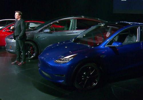 nuevo modelo y actualización de anteriores Tesla